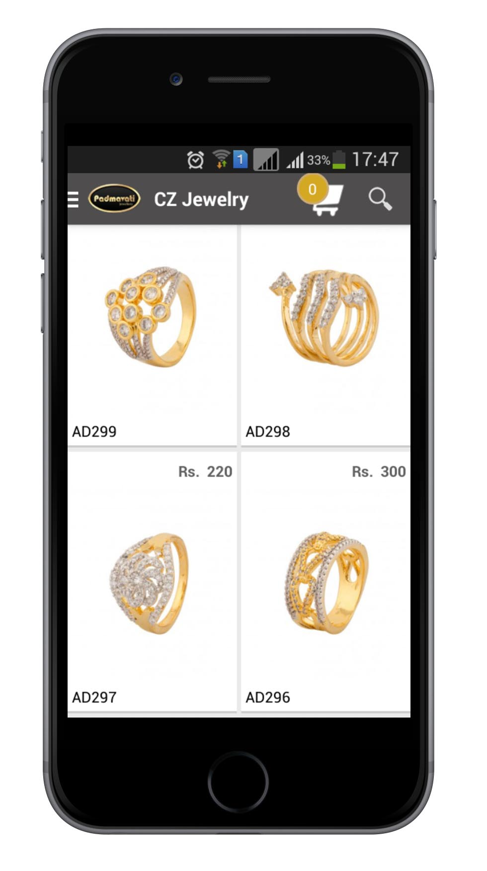 Jewellery Website And Mobile Application Development